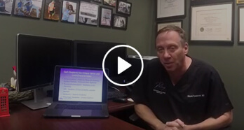 Dr. Feldman Presenting Live on Scoliosis sixth video